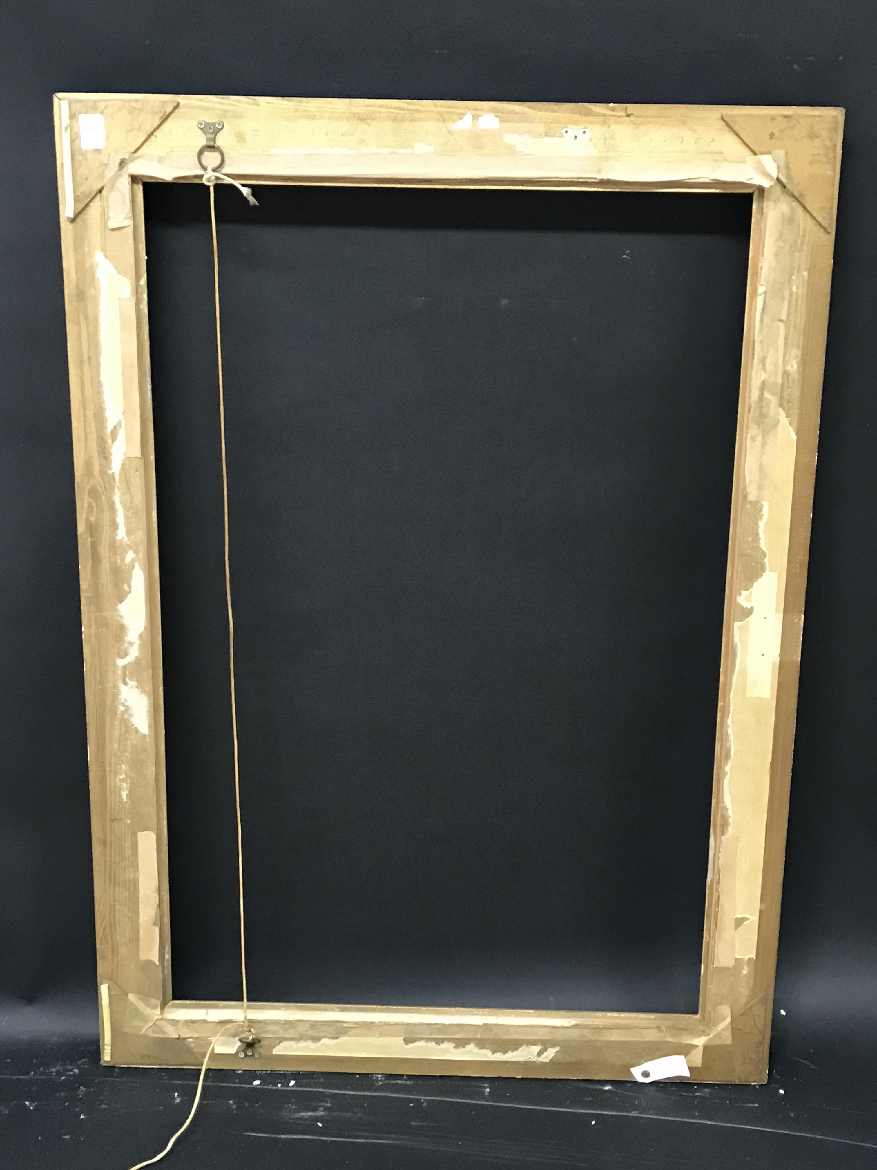 Lot 32 - 20th Century English School. A Gilt Composition Frame, with Swept and Pierced Centres and Corners,