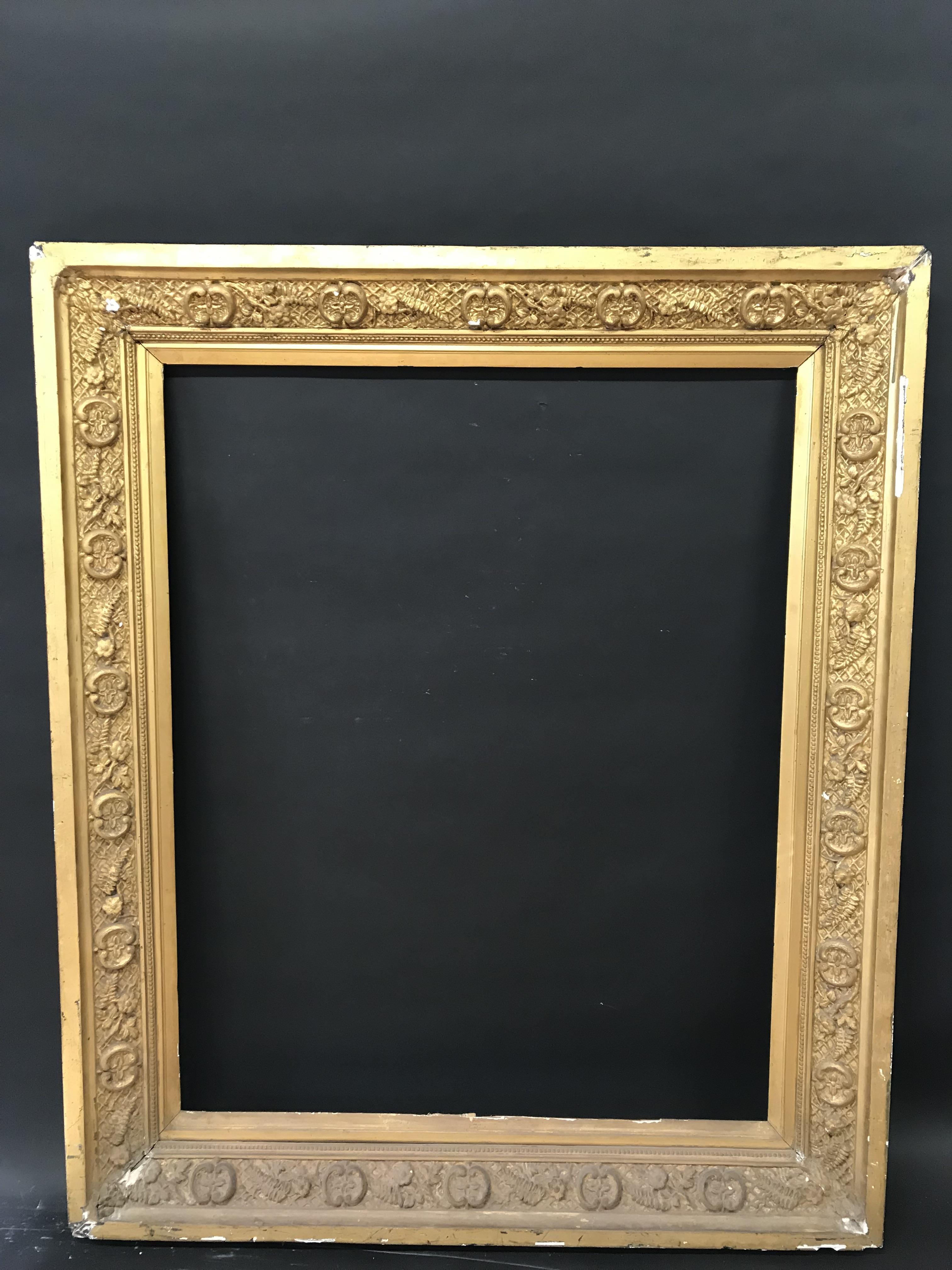 "Lot 49 - 19th Century English School. A Gilt Composition Frame, 50"" x 40"" (rebate)."