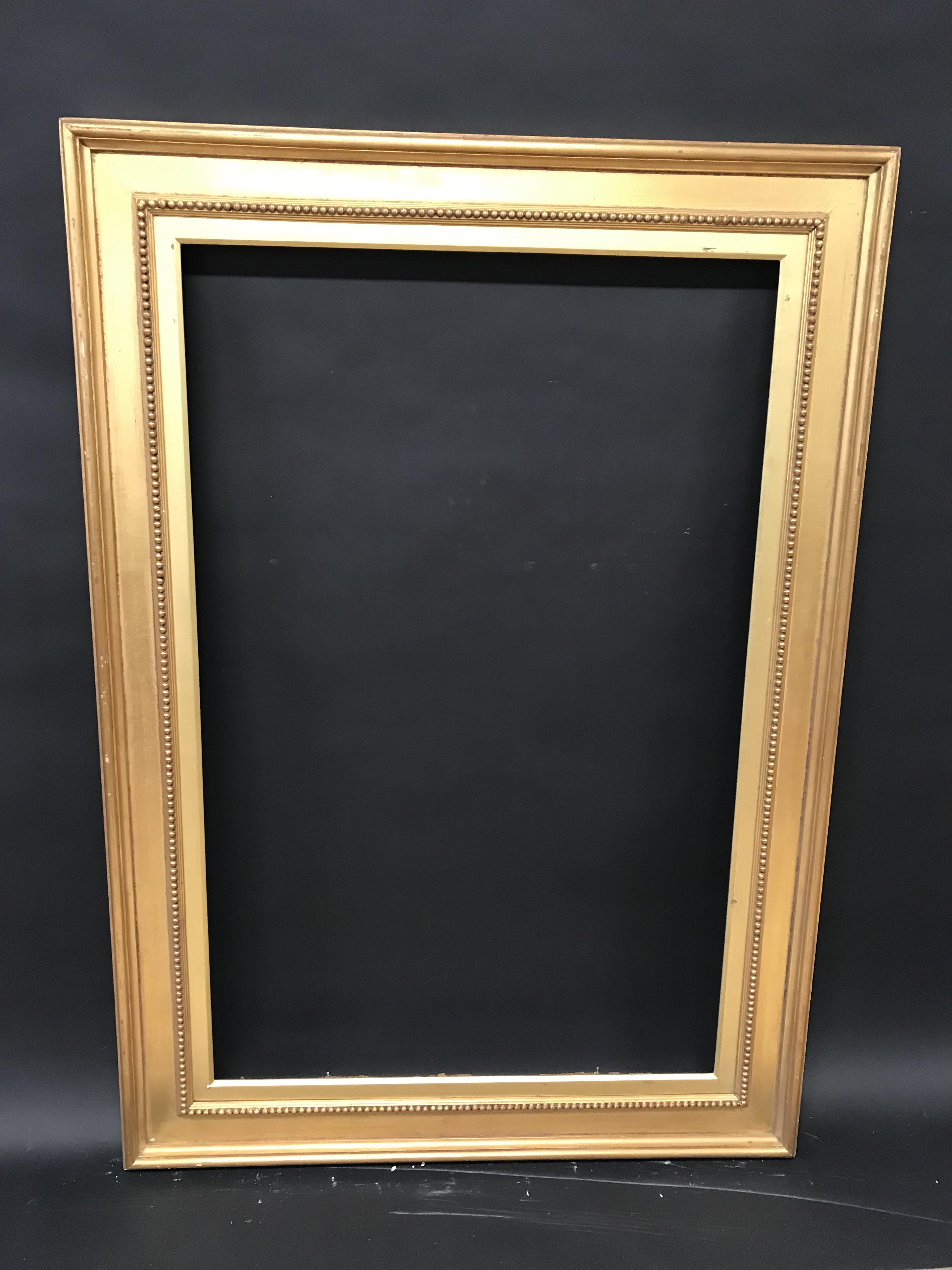 "Lot 26 - 19th Century English School. A Gilt Composition Frame, 45"" x 29"" (rebate)."