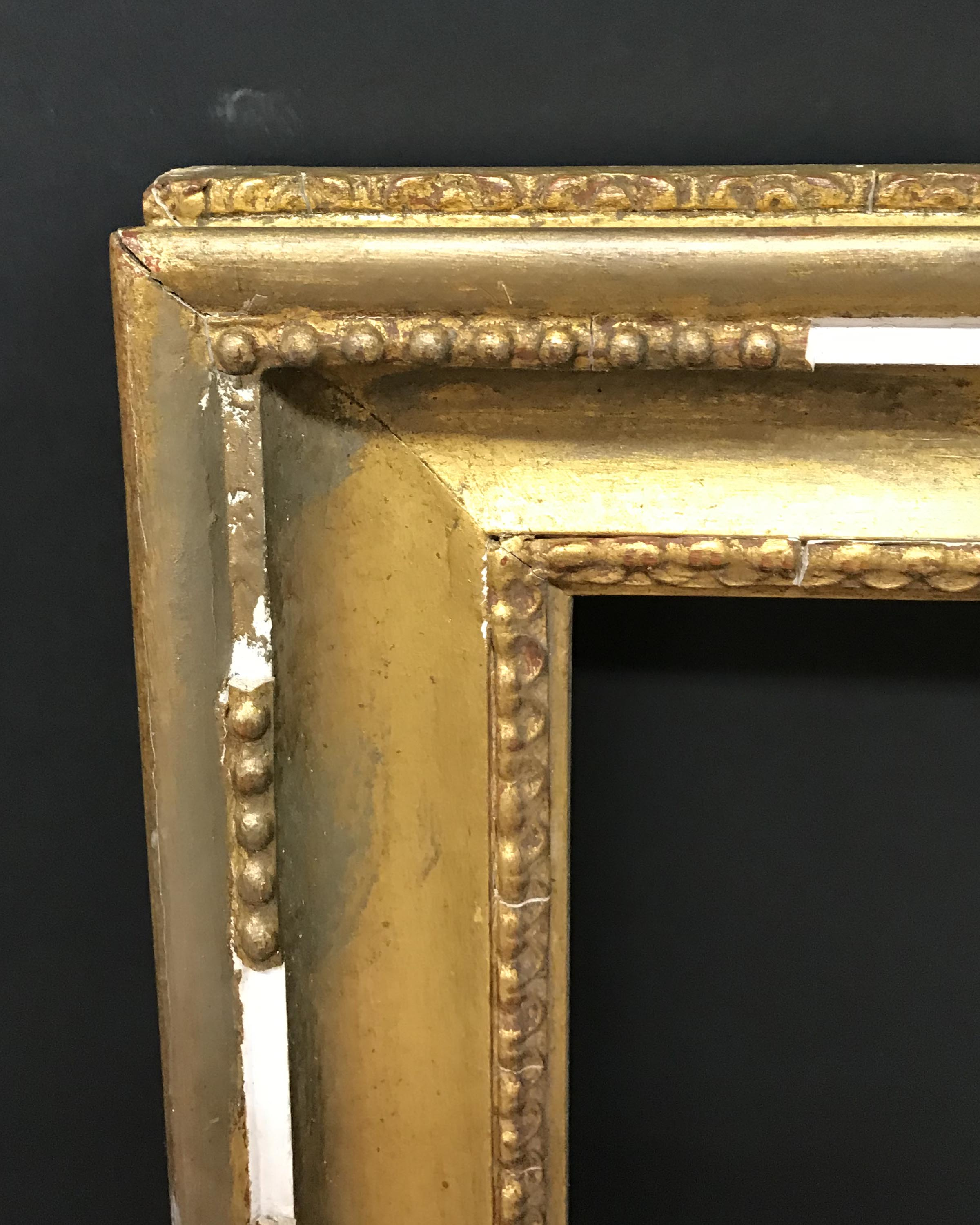 """Lot 23 - 20th Century English School. A Gilt Composition Hollowed Frame, 30"""" x 20"""" (rebate)."""