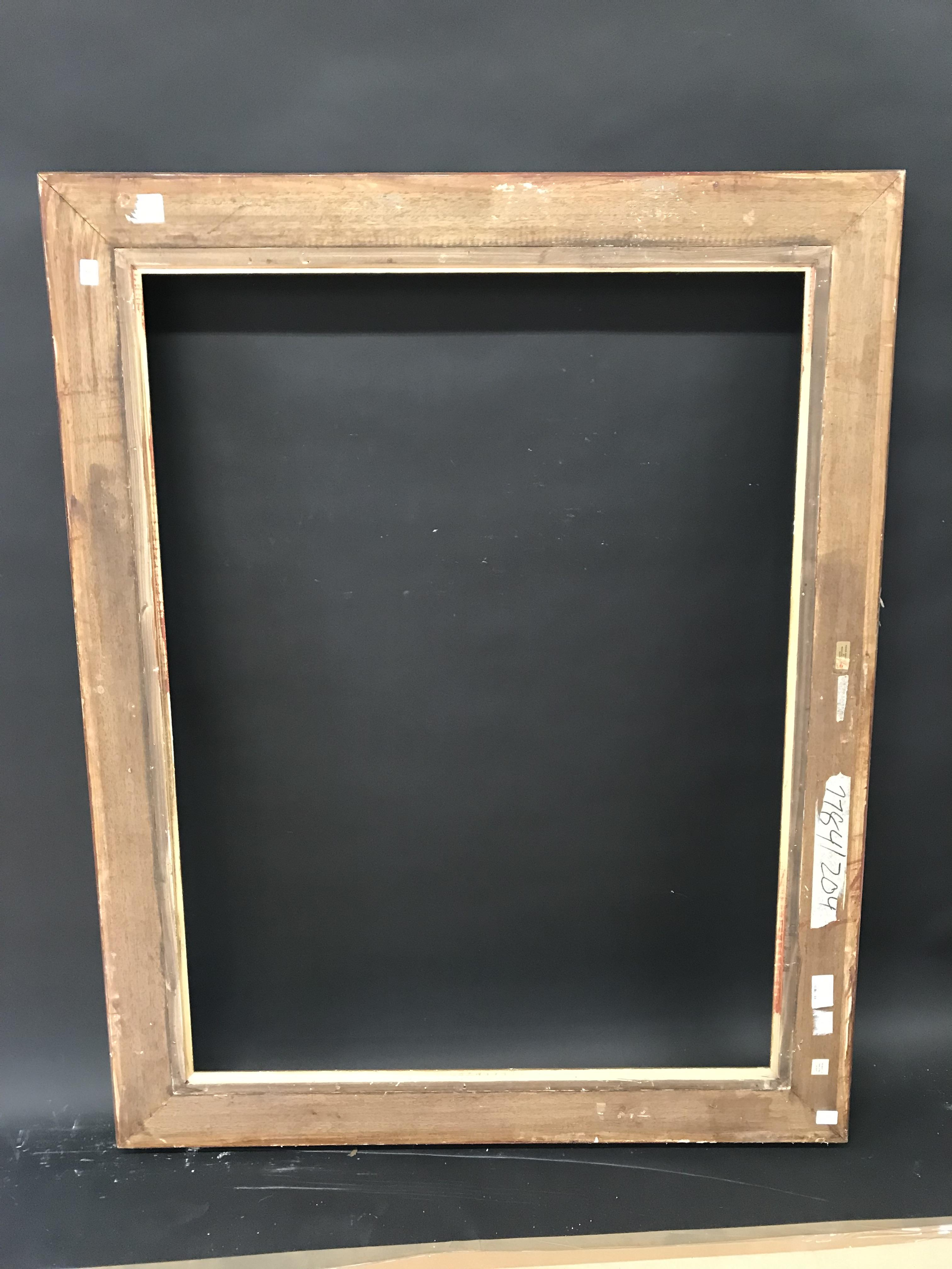 """Lot 56 - 19th Century English School. A Gilt Composition Frame, with Swept Centres and Corners, 46.75"""" x 35."""