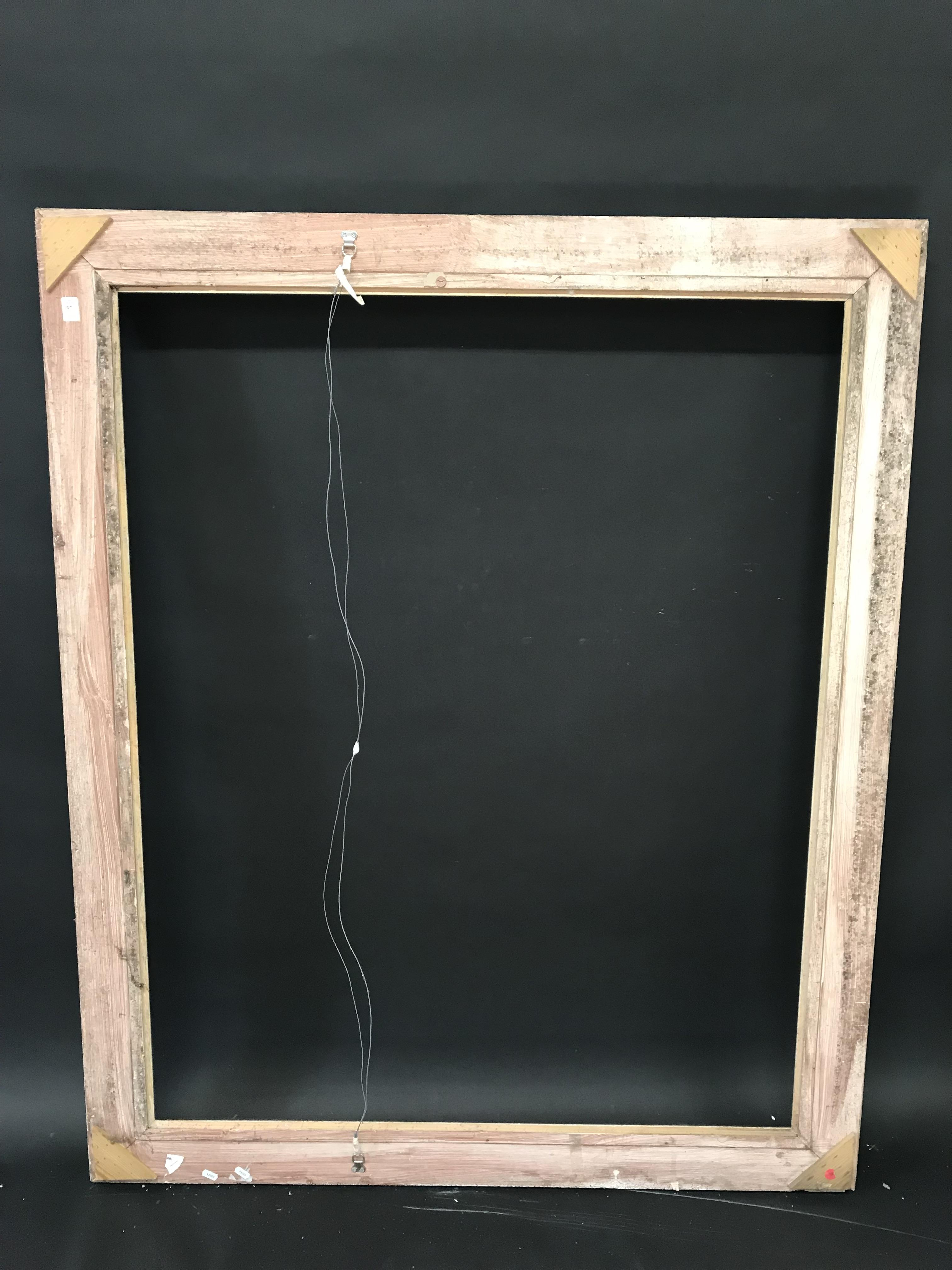 Lot 37 - 20th Century English School. A Painted Composition Frame, with Swept and Pierced Centres and