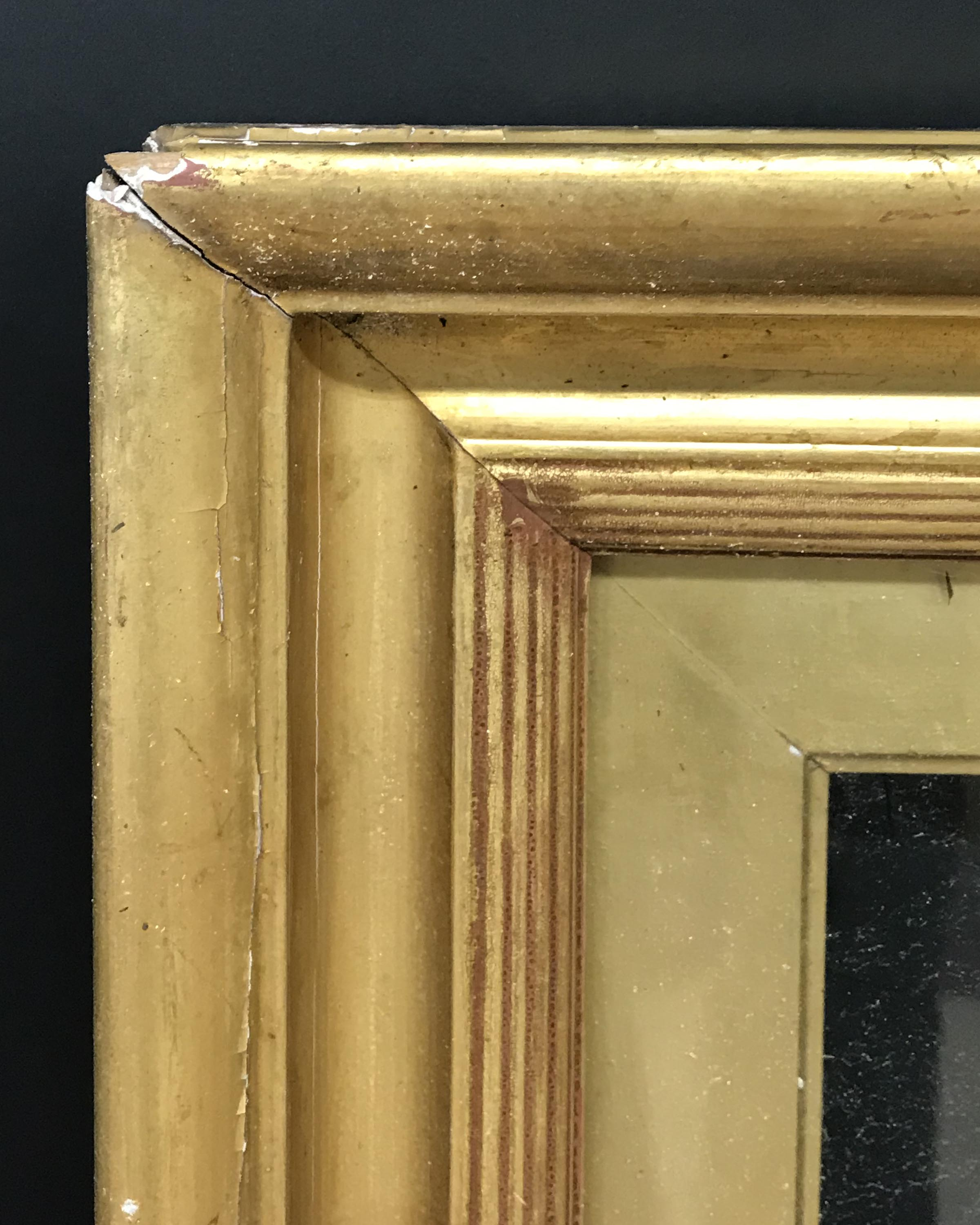 "Lot 20 - 19th Century English School. A Gilt Composition Frame, with Inset Glass, 30.25"" x 20"" (rebate)."