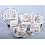 "A Furnivals ""Quail"" pattern pottery part combination service"