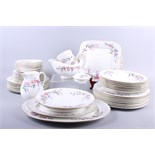 """A Wedgwood """"Devon Sprays"""" part combination service, sixty-five pieces approx"""