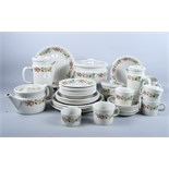 """A quantity of Wedgwood """"Quince"""" pattern dinnerware"""