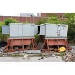 (2) Trane Commercial 400,000 BTU Gas Heat Units