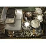Catering Pans, Baking Trays, Frying Pans, Trays, Mincing Machines