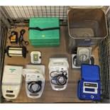 HK 2000 Electric Dental Knife, Walker Elec Ltd Ultrasonic Bath, Porta-Neb Portable Nebulis