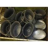 26x Heavy Duty Cooking Pots - 8 1/2 Pint
