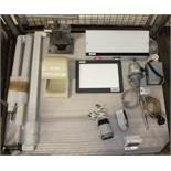 WelchAllyn Pro 4000 Braun Thermometer, Harmer Dental Lightbox, Kayo Hand Drill Unit With F