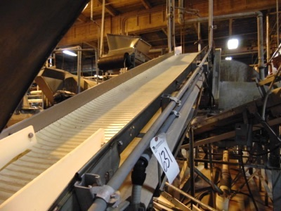 """S.S. Product Belt Incline Conveyor, 18""""W x 12'L - Image 3 of 3"""