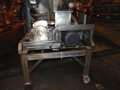 """Fitzmill S.S. Hammermill mod. D, 6"""" Wide w/ - Image 2 of 4"""