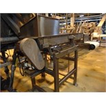 """Commercial S.S. Dewatering Shaker, 18""""x5'Lx4""""D"""