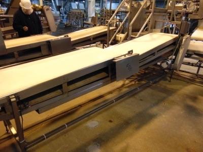 "Lot 653 - S.S. Product Belt Conveyor, 24""W x 16'L"