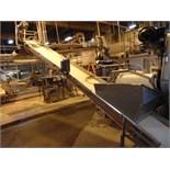 "S.S. Product Belt Incline Conveyors, 18""W x 20'L"