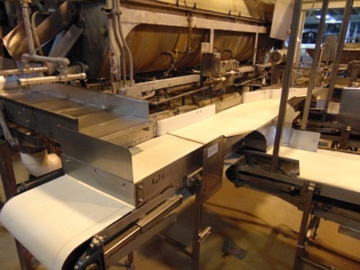 "Lot 652 - S.S. Product Distribution Conveyor, 18""W x 10'L"