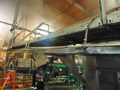 "Lot 604 - S.S. Product Belt Conveyor, 18""x20'L"