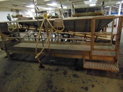 "Lot 602 - S.S. Platform w/ Grating, 24""x10'L"