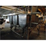 S.S. 3-Compartment Paddle Mixer w/ Sanitary