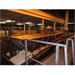 "S.S. Product Belt Incline Conveyor, 24""W x 20'L"