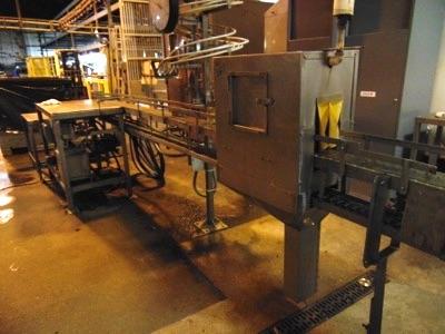 Lot 621 - Can Washer Conveyor w/ Hyd. Retort Basket