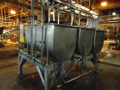 S.S. 3-Compartment Paddle Mixer w/ Sanitary - Image 2 of 7