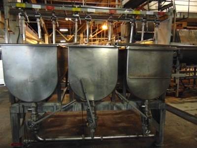S.S. 3-Compartment Paddle Mixer w/ Sanitary - Image 4 of 7