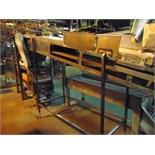 "S.S. Product Belt Incline Conveyor, 24""W x 8' L"