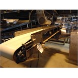 "S.S. Product Belt Conveyor, 12"" x 8'L"