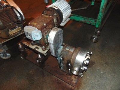 Lot 617a - Waukesha mod. 130, 5hp S.S. Lobe Pump