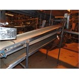 "S.S. Product Belt Conveyor, 24""x 10'L"