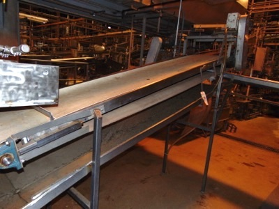 "S.S. Product Belt Conveyor, 24""x 10'L"