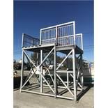 Redd Team Mfg. Aluminum Dock Structure, 10'Hx12.5'Lx7'W