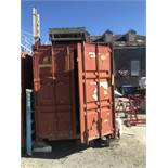 40' Conex Box (WILL BE EMPTIED AND AVAILABLE FOR PICKUP LAST DAY OF REMOVAL)