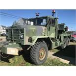 1991 Harsco/BMY 5 Ton, 6x6 Wrecker/Crane Truck, M936A2, Odometer 39,982, 1,712 Hrs Auto,(See Desc)