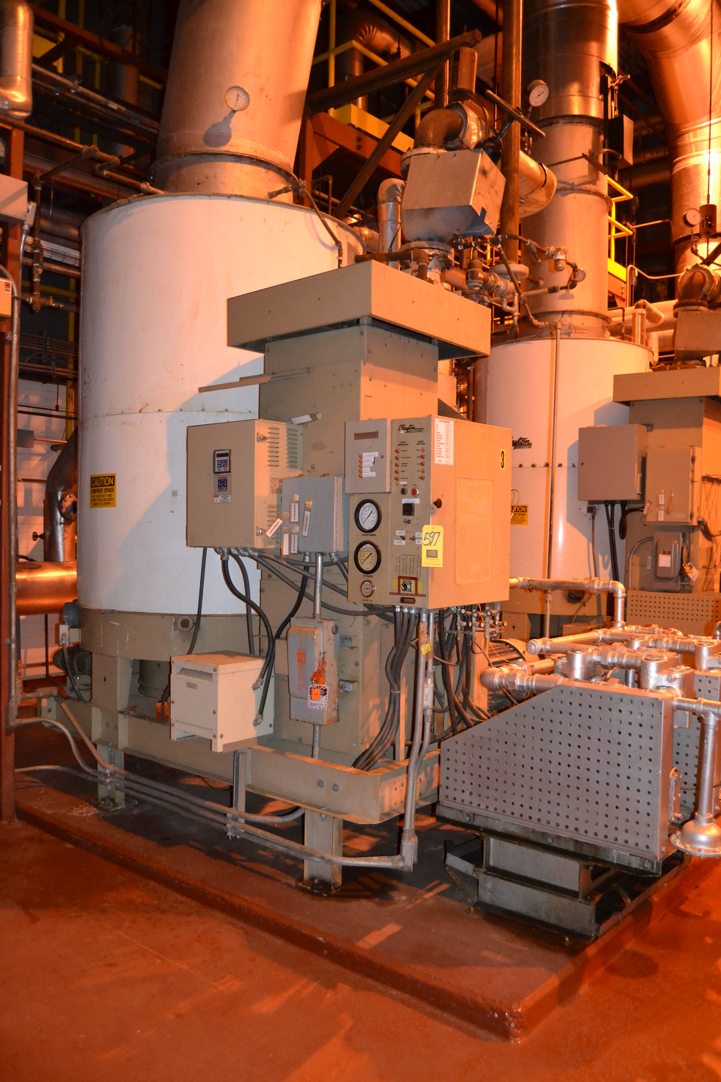 Clayton Steam Generator Model EG 500 2 CSA S N