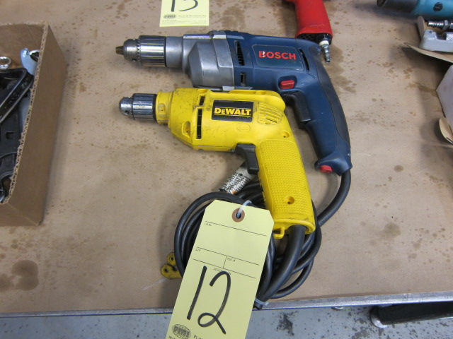 Lot 12 - LOT OF ELECTRIC DRILL MOTORS (2)