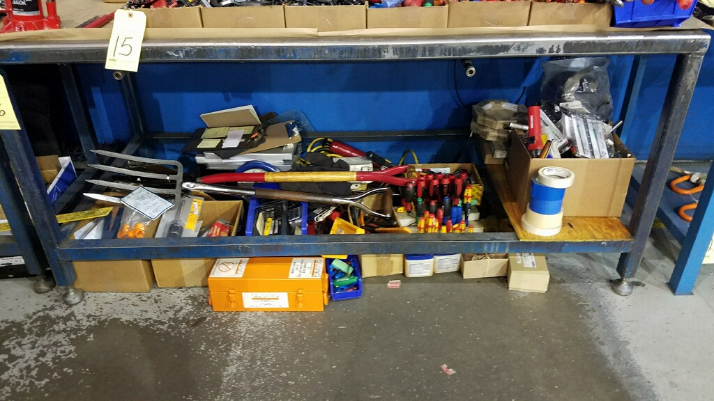 Lot 15 - LOT OF HAND TOOLS, assorted