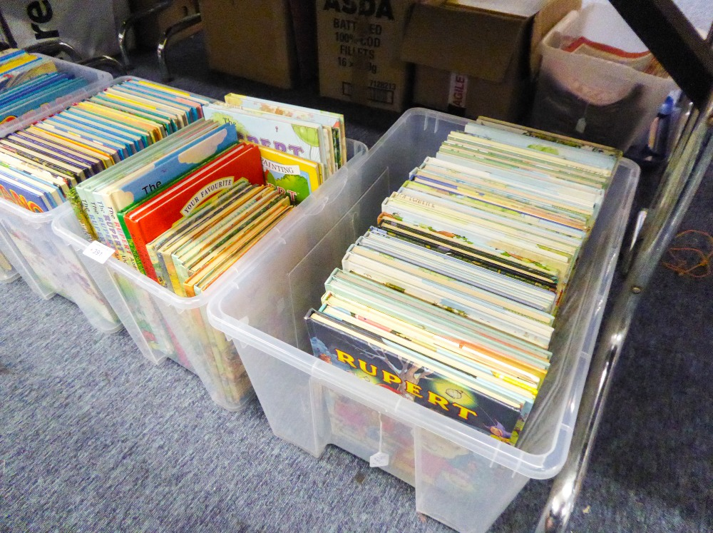 Lot 391 - IN EXCESS OF 50 RUPERT ANNUALS, from 1958 - 2005 and associated material