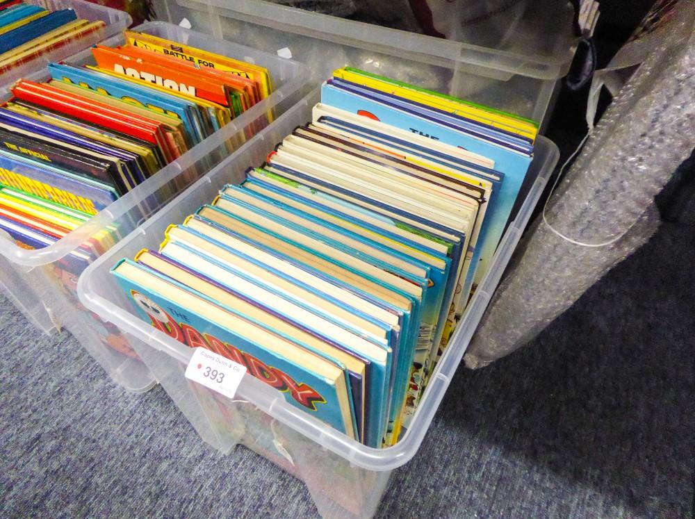Lot 393 - TWENTY THREE 1980s ONWARDS 'THE DANDY' BOOKS/ANNUALS (23)