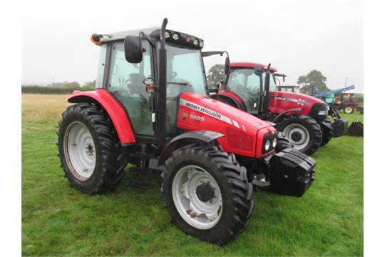 Tractor Front End Weights : Massey ferguson dyna wd tractor fitted with