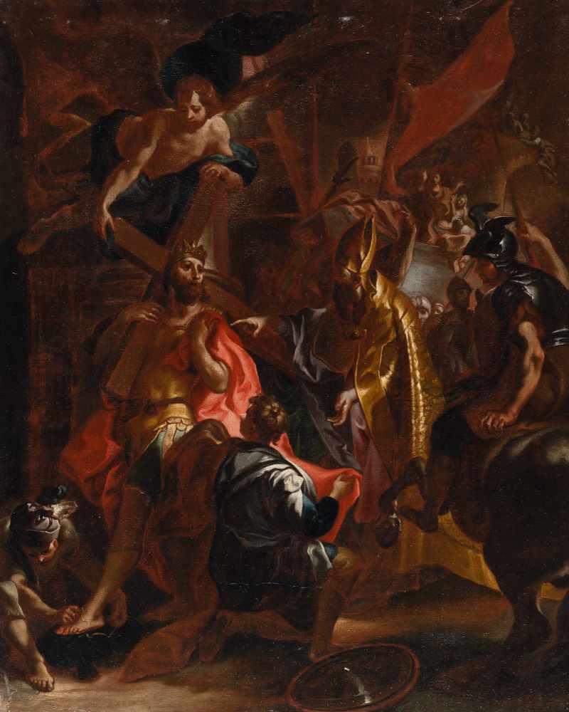 Nach Johann Evangelist Holzer1709 Burgeis, Südtirol - Clemenswerth 1740Die Kreuztragung des