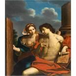 Michele Desubleo1602 - Maubeuge - Parma 1676Allegorie der MalkunstÖl auf Leinwand. (Um 1650/60).