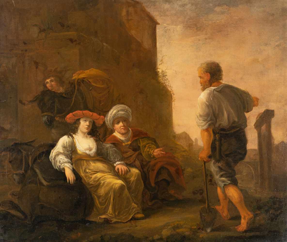 Los 28 - Jan Van Noordtactive in Amsterdam between 1644 and 1676Der Levit und sein Kebsweib in Gibea (Richter