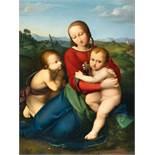 Johann Evangelist Scheffer Von Leonhardshoff1795 - Vienna - 1822Madonna mit Kind und