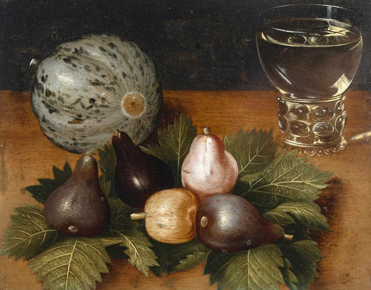 Osias Beert D. Ä. (Nachfolge)c. 1580 - Antwerp - 1623Stillleben mit Melone, Feigen und einem - Bild 2 aus 2