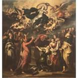 Pauwel Casteelsaktiv c. 1649-1677 in AntwerpDie Himmelfahrt MariensÖl auf Leinwand. (Um 1650). 137 x