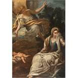 Antonio Puglieschi1660 - Florence - 1732Hagar und Ismael in der WüsteÖl auf Leinwand. 1693. 61,5 x