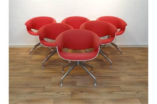 Eetkamerstoelen Design Stoelen.6 B B Italia Design Stoelen Set Van 6 Design Eetkamerstoelen